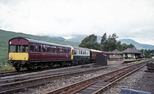 North British Railway Saloon at Bridge of Orchy - 5 August 1972