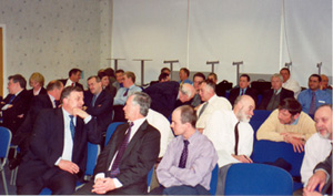 Members at the 2002 Annual General Meeting.