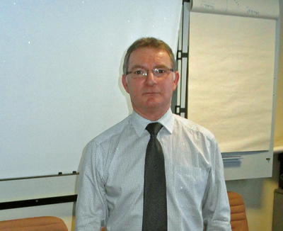 Colin Hume, Commercial and Administration Manager, Associated British Ports.