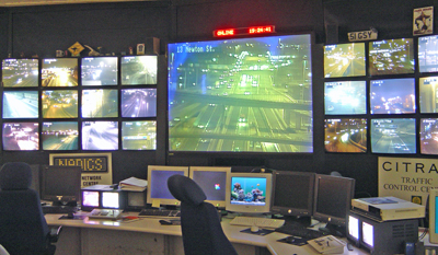 A view of the main CITRAC/NADICS control room.