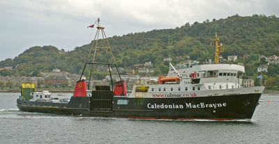 The Caledonian MacBrayne ferry