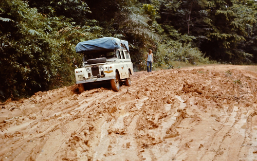 Negotiating heavy mud in Cameroon